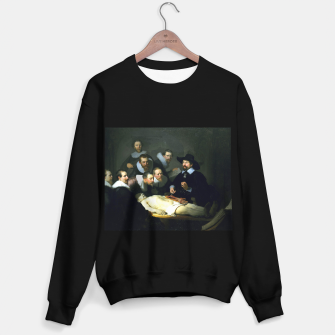 Miniatur The Anatomy Lesson of Dr. Nicolaes Tulp Sweater regular, Live Heroes