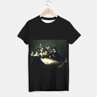 Miniatur The Anatomy Lesson of Dr. Nicolaes Tulp T-shirt regular, Live Heroes