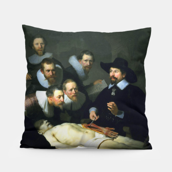 Miniatur The Anatomy Lesson of Dr. Nicolaes Tulp Pillow, Live Heroes