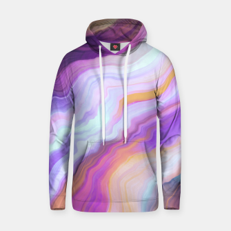 Bright and colorful marbled effect Sudadera con capucha miniature