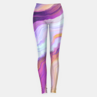 Miniature de image de Bright and colorful marbled effect Leggings, Live Heroes