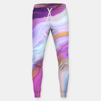 Thumbnail image of Bright and colorful marbled effect Pantalones de chándal , Live Heroes