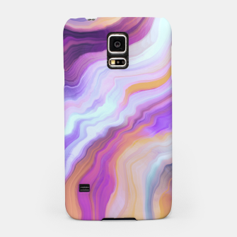 Thumbnail image of Bright and colorful marbled effect Carcasa por Samsung, Live Heroes