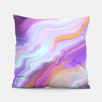 Thumbnail image of Bright and colorful marbled effect Almohada, Live Heroes