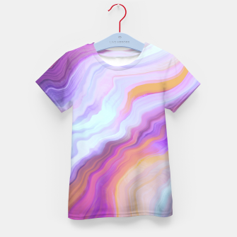 Thumbnail image of Bright and colorful marbled effect Camiseta para niños, Live Heroes