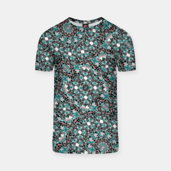 Thumbnail image of Intricate Texture Ornate Camouflage Pattern T-shirt, Live Heroes