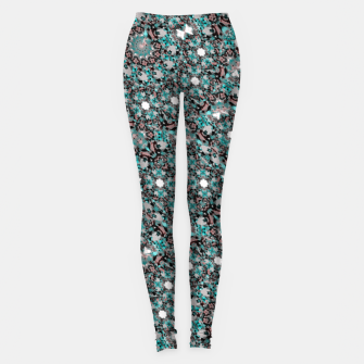 Thumbnail image of Intricate Texture Ornate Camouflage Pattern Leggings, Live Heroes