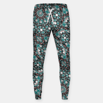 Thumbnail image of Intricate Texture Ornate Camouflage Pattern Sweatpants, Live Heroes