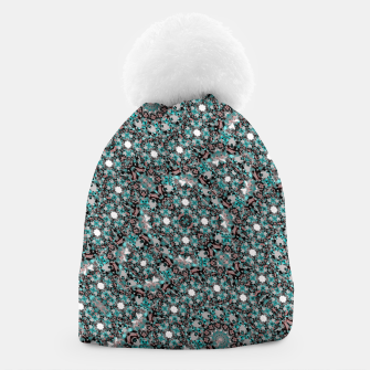 Thumbnail image of Intricate Texture Ornate Camouflage Pattern Beanie, Live Heroes