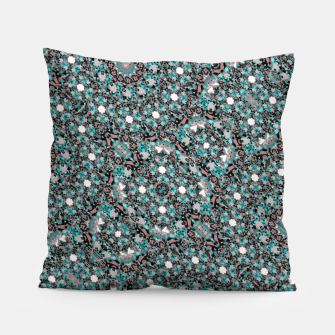 Thumbnail image of Intricate Texture Ornate Camouflage Pattern Pillow, Live Heroes