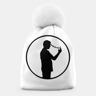 Thumbnail image of Mobile Phone Addiction Concept Illustration Beanie, Live Heroes