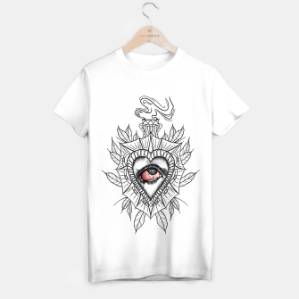 Miniatur Sagrado Corazon Camiseta Regular, Live Heroes