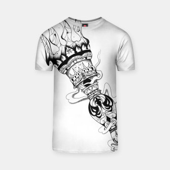 Thumbnail image of Torch Camiseta, Live Heroes