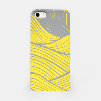 Miniaturka The yellow waves iPhone Case, Live Heroes