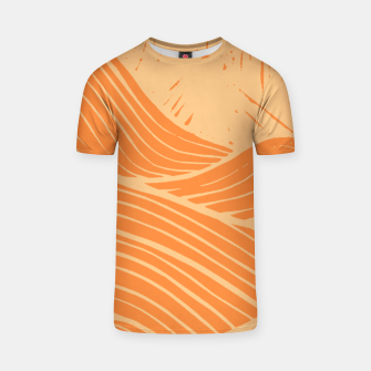 Thumbnail image of The orange waves T-shirt, Live Heroes