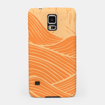 Miniatur The orange waves Samsung Case, Live Heroes