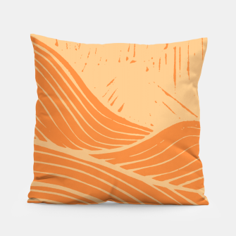 Miniatur The orange waves Pillow, Live Heroes
