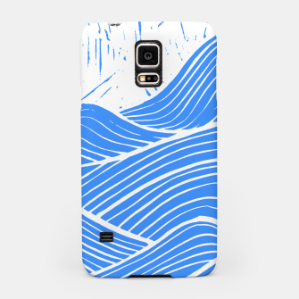 Thumbnail image of Blue waves Samsung Case, Live Heroes