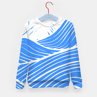 Thumbnail image of Blue waves Kid's sweater, Live Heroes