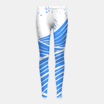 Thumbnail image of Blue waves Girl's leggings, Live Heroes