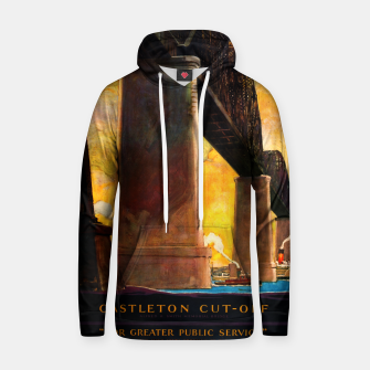 Castleton Cut-Off Alfred H. Smith Memorial Bridge New York Central Lines Hoodie miniature