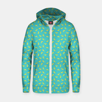 Thumbnail image of Bananas Bananas Zip up hoodie, Live Heroes