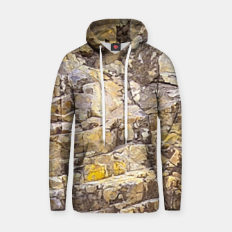 Thumbnail image of Rocky Texture Grunge Print Design Hoodie, Live Heroes
