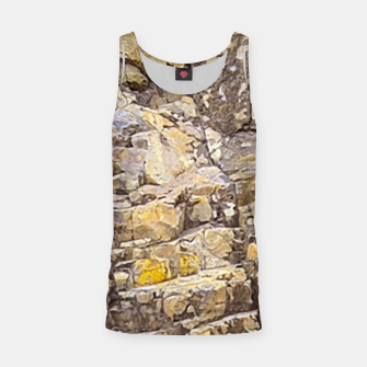 Thumbnail image of Rocky Texture Grunge Print Design Tank Top, Live Heroes