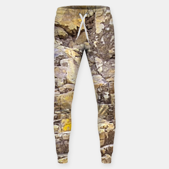 Thumbnail image of Rocky Texture Grunge Print Design Sweatpants, Live Heroes