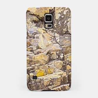 Thumbnail image of Rocky Texture Grunge Print Design Samsung Case, Live Heroes