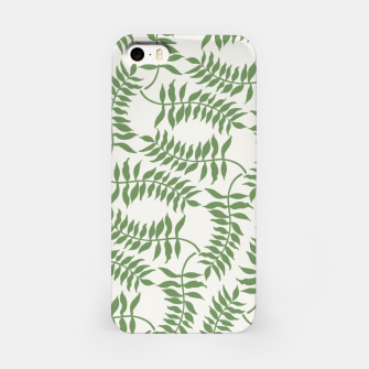 Thumbnail image of Laurel pattern iPhone Case, Live Heroes