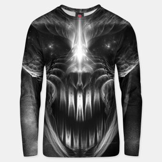 Thumbnail image of Fractal Gothic Skull Unisex sweater, Live Heroes