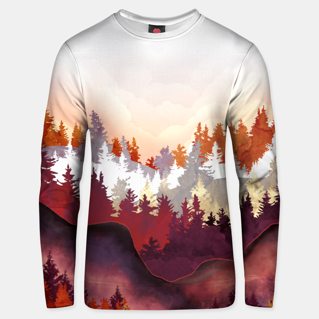 Image of Amber Forest Unisex sweater - Live Heroes