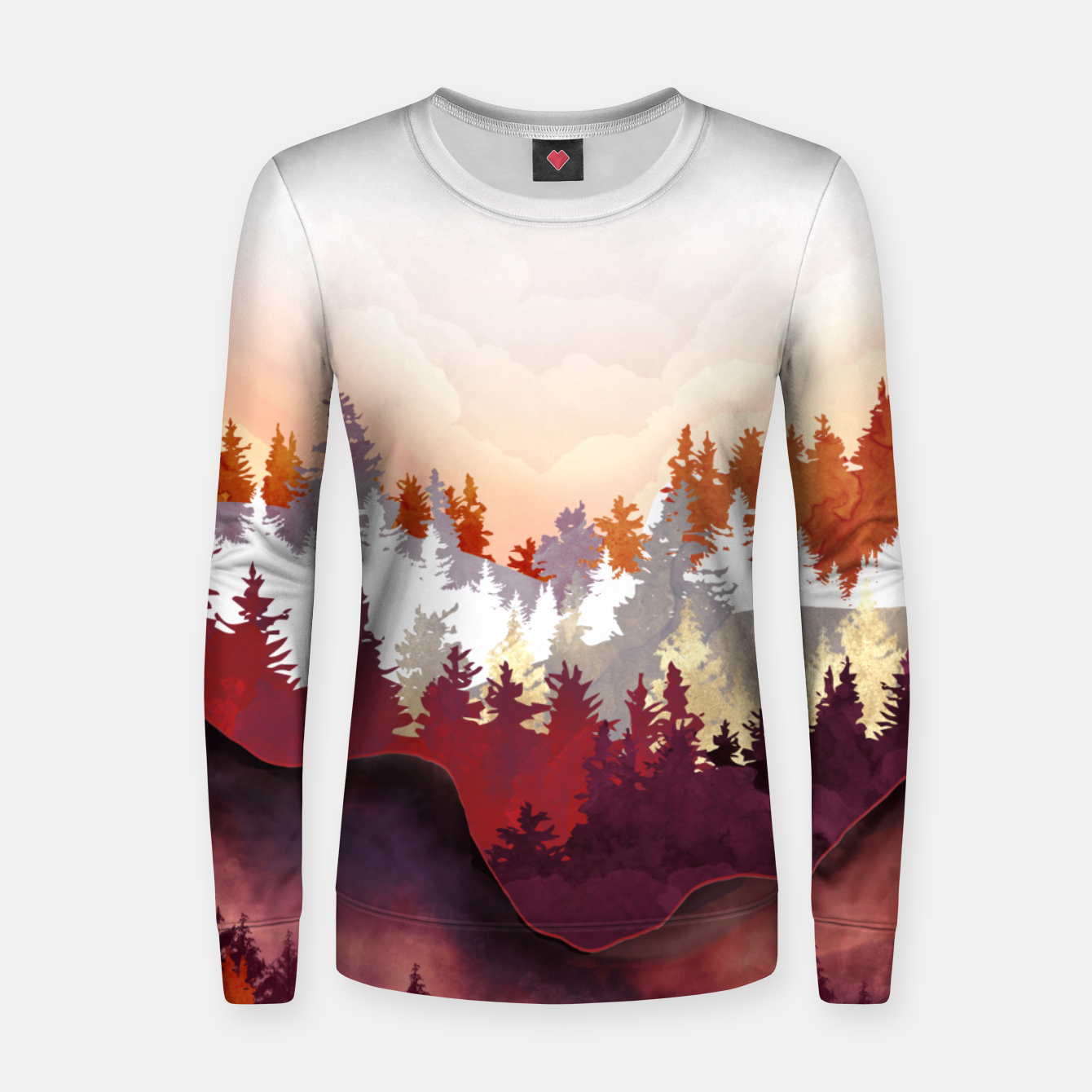 Image of Amber Forest Women sweater - Live Heroes