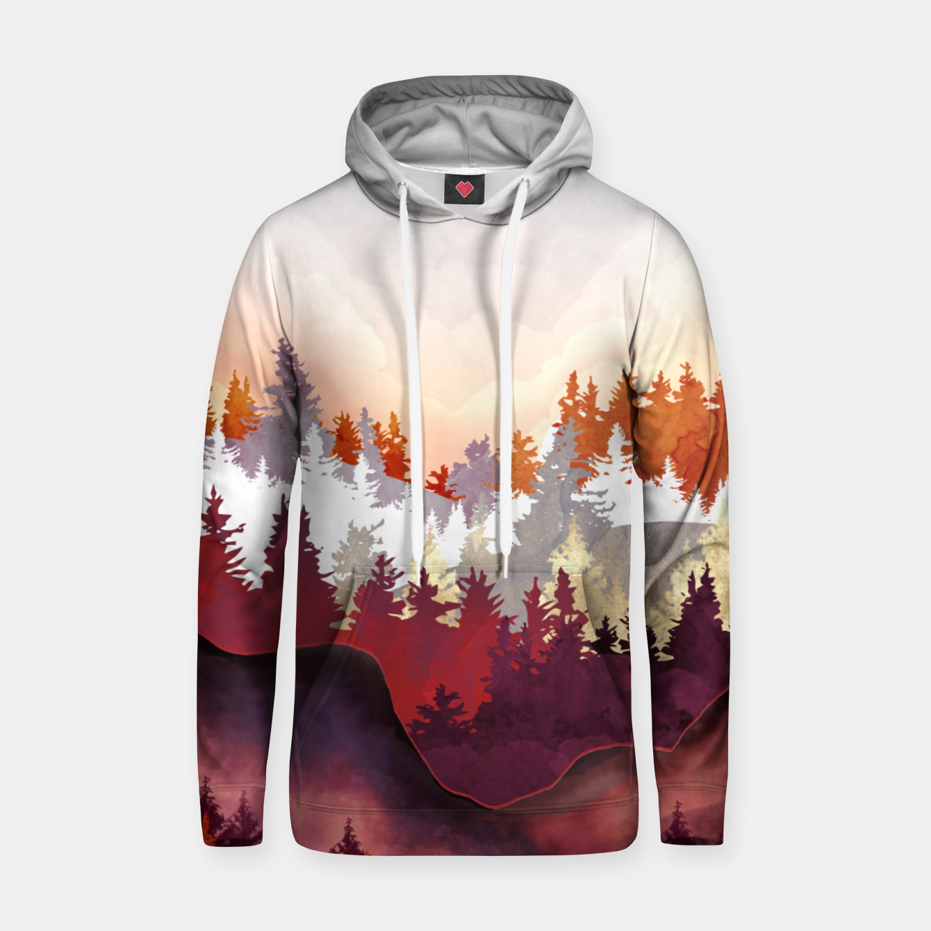 Image of Amber Forest Hoodie - Live Heroes