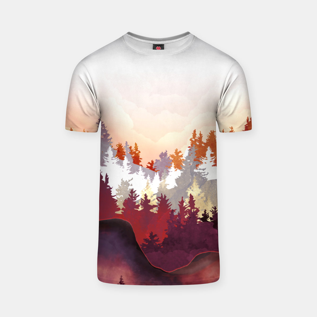 Image of Amber Forest T-shirt - Live Heroes