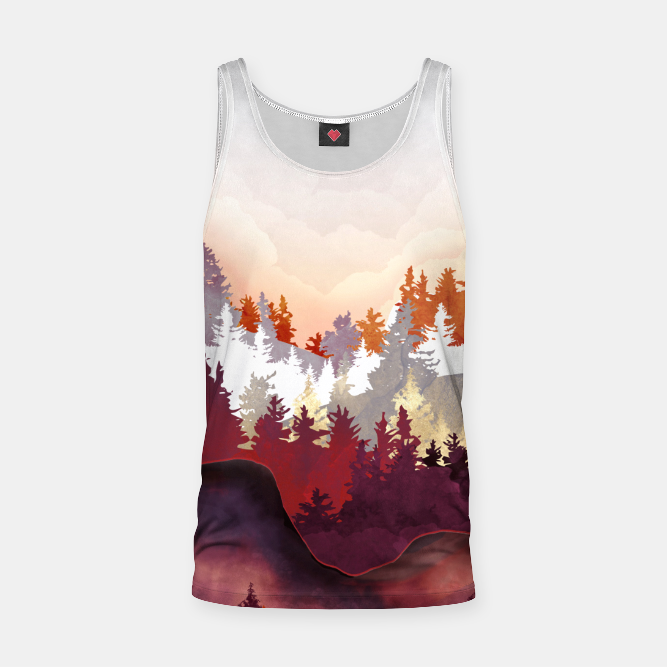 Image of Amber Forest Tank Top - Live Heroes