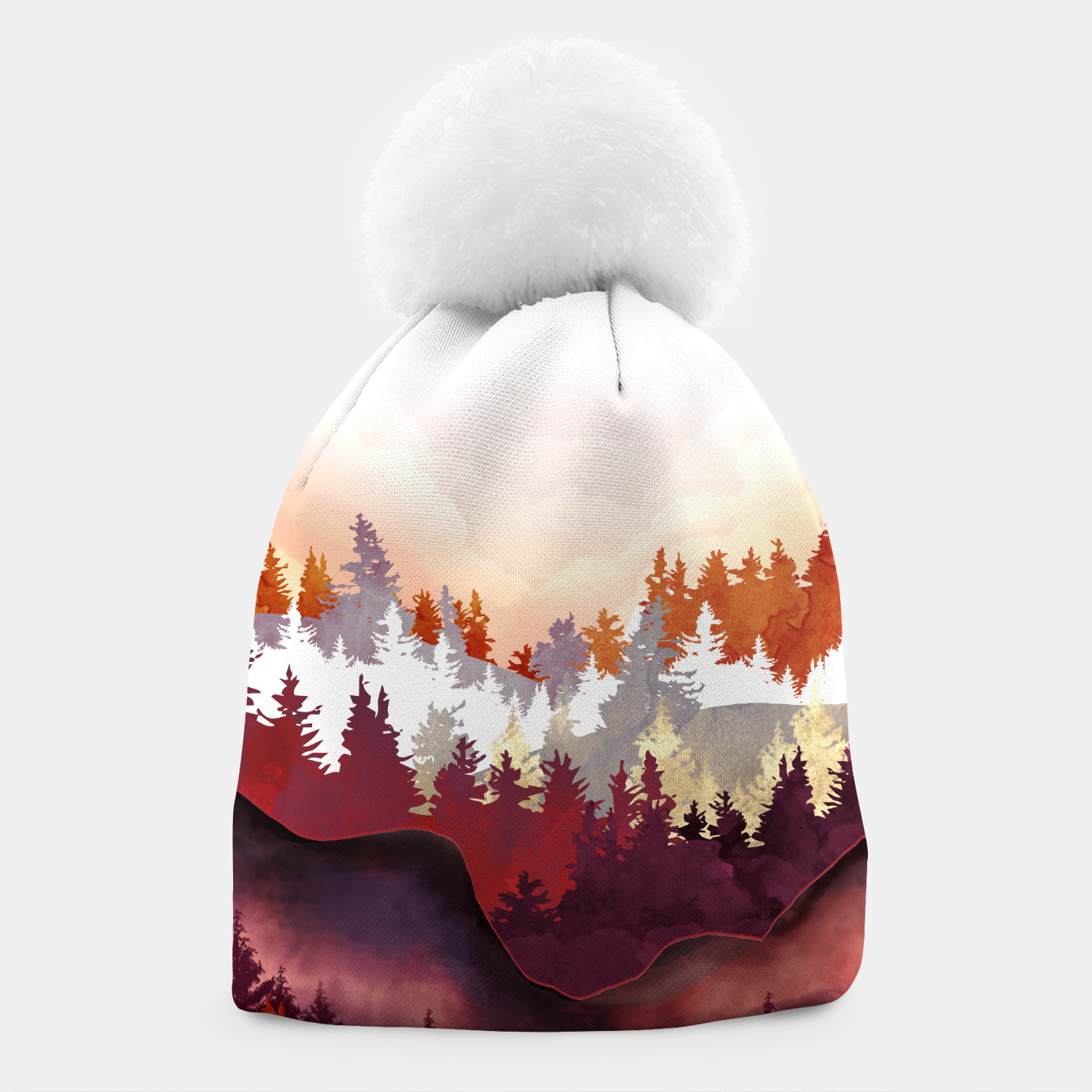 Image of Amber Forest Beanie - Live Heroes
