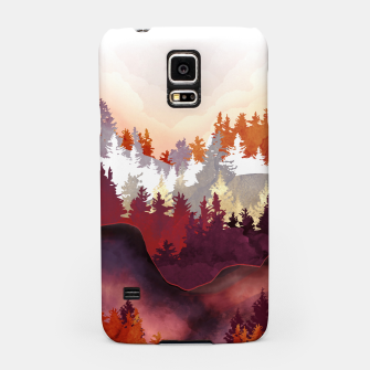 Amber Forest Samsung Case thumbnail image