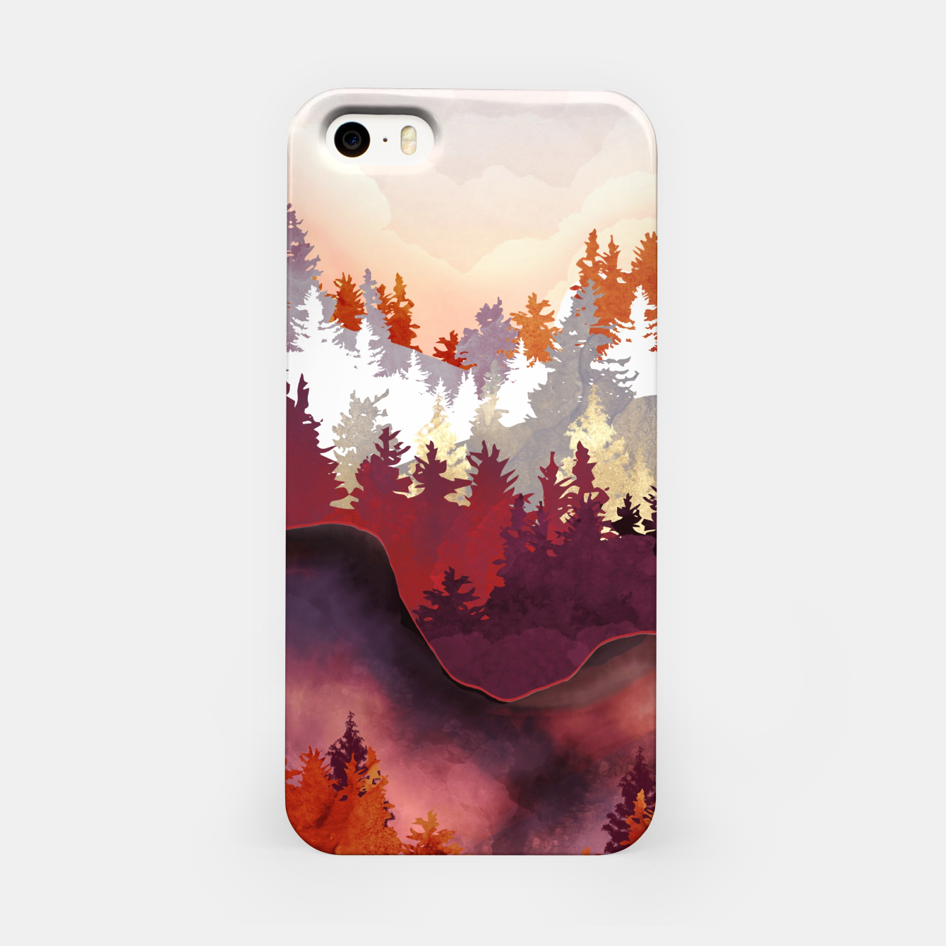 Image of Amber Forest iPhone Case - Live Heroes