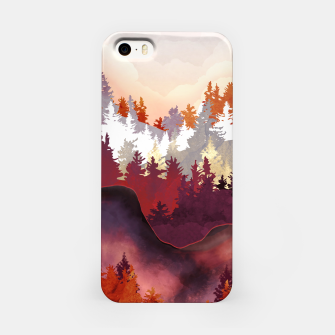 Amber Forest iPhone Case thumbnail image