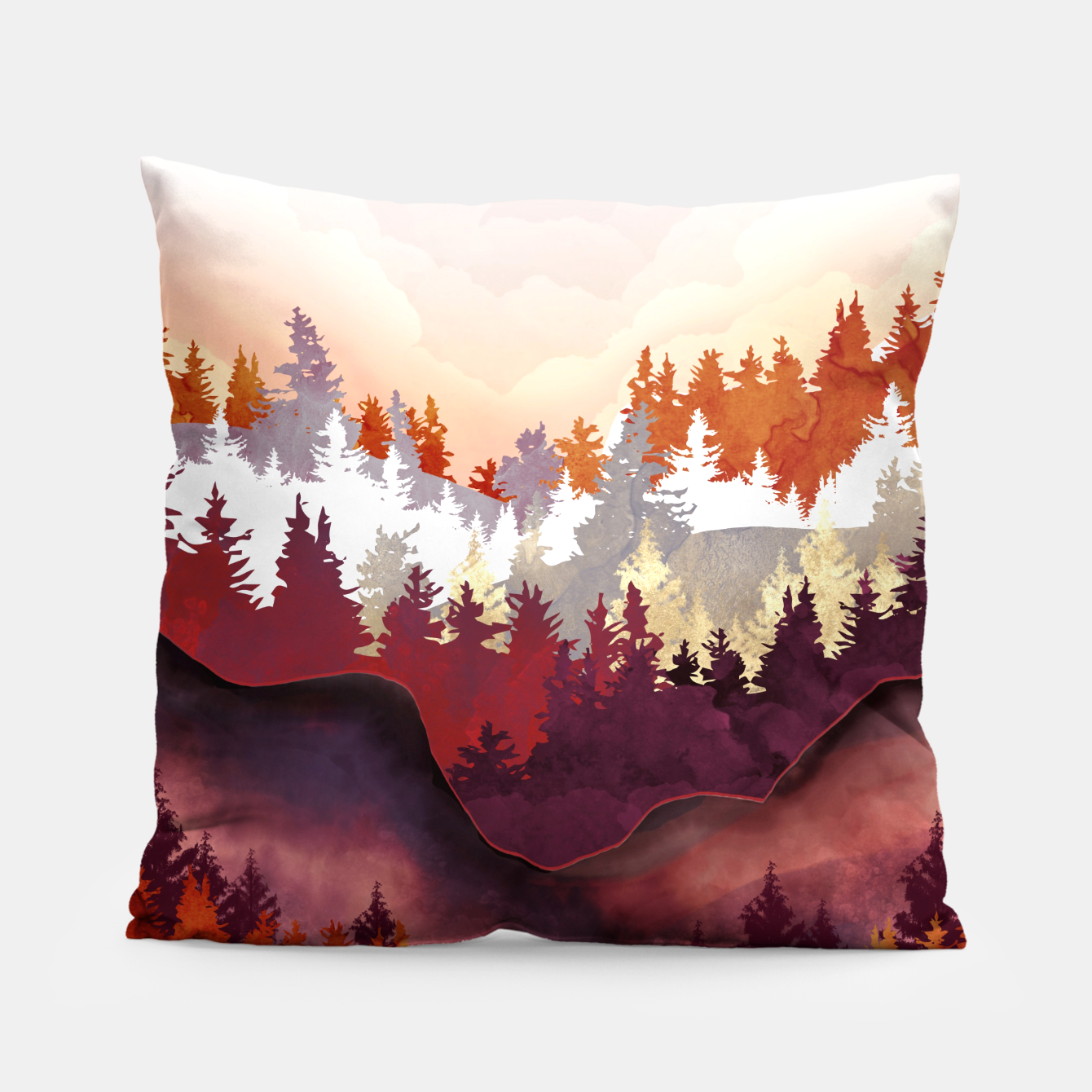 Image of Amber Forest Pillow - Live Heroes
