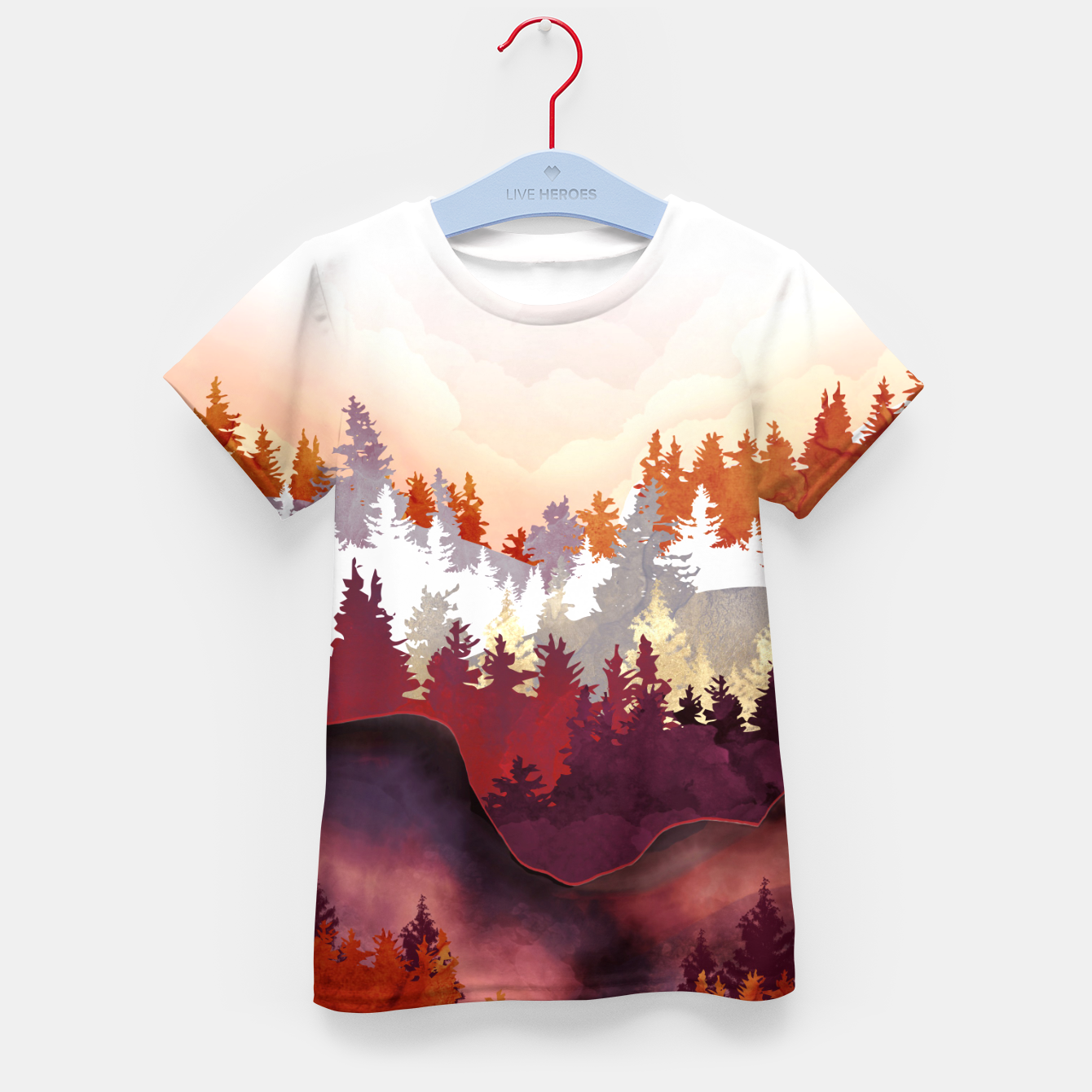Image of Amber Forest Kid's t-shirt - Live Heroes