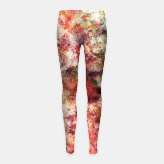 Thumbnail image of To the edge Girl's leggings, Live Heroes