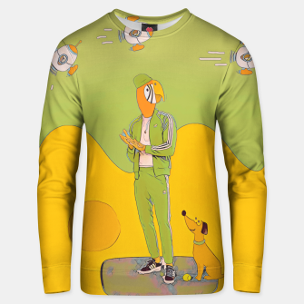 Thumbnail image of Waiting Unisex sweater, Live Heroes