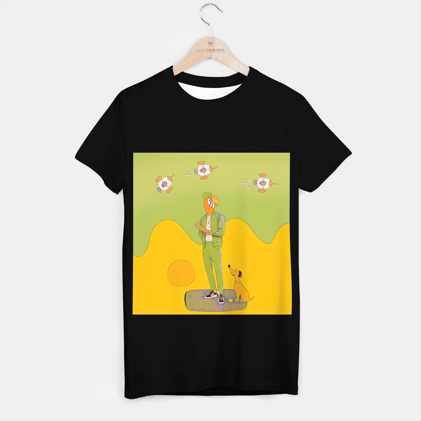 Image of Waiting T-shirt regular - Live Heroes