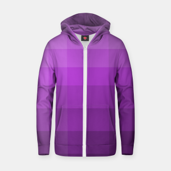 Thumbnail image of zappwaits-purple Zip up hoodie, Live Heroes