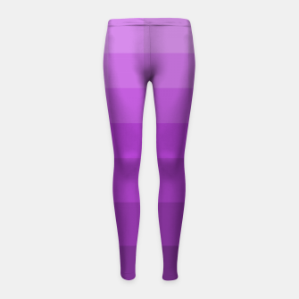 Thumbnail image of zappwaits-purple Girl's leggings, Live Heroes