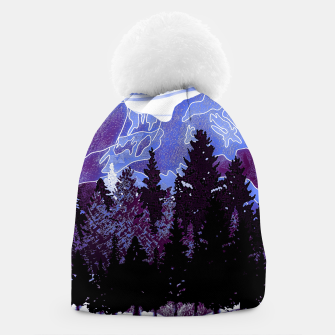 Thumbnail image of purple mountains Beanie, Live Heroes