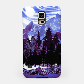 Thumbnail image of purple mountains Samsung Case, Live Heroes